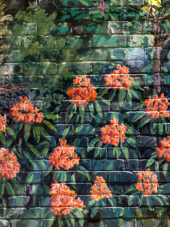 Painted Brick Murals in Leura