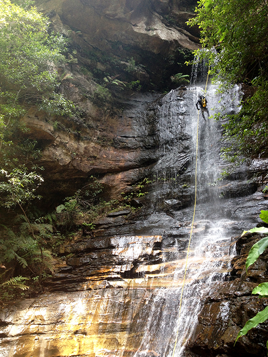Canyoning Wentworth Falls