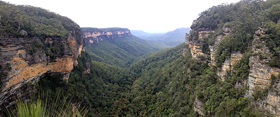 Blue Mountains National Park, Queen Victoria Lookout