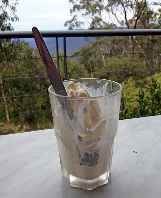Valley of the Waters, Conservation Hut Ice Cream