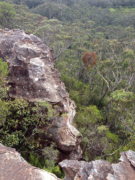 Blue Mountains National Park, Rock formation