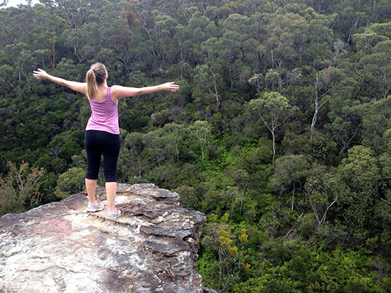 Blue Mountains National Park, nature hug