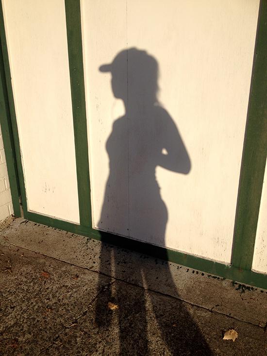 Sydney Coastal Walk - Greenwich Walk Track - Shadows