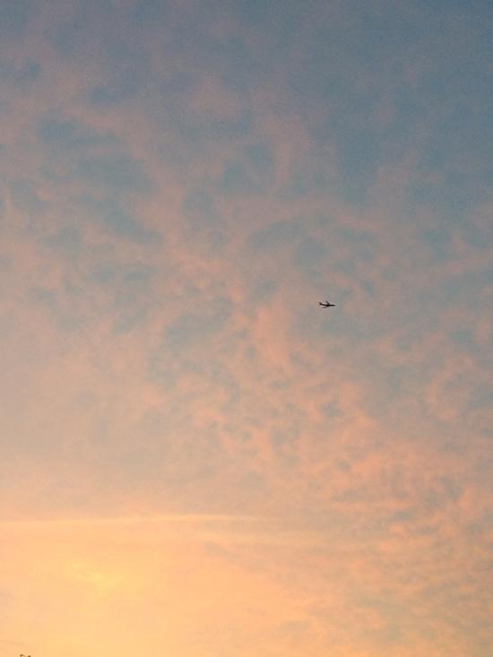 Pink Sky Aeroplane