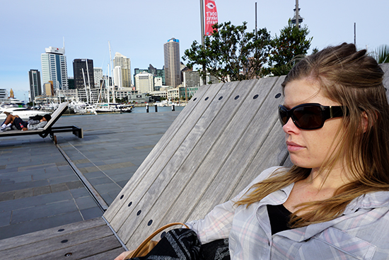 Auckland Harbour Deck Chairs