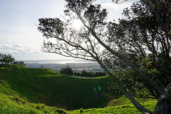 Mt Eden View of Auckland