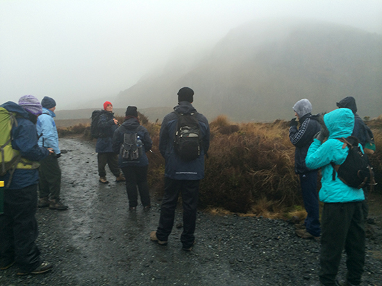 Tongariro National Park Hike