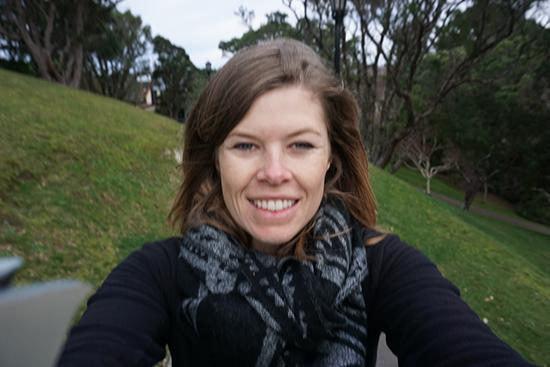 Wellington Botanic Garden Selfie