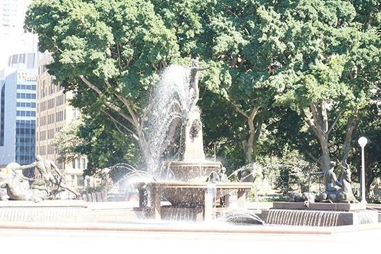 Hyde Park Water Fountain