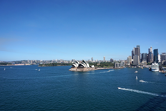 Sydney Harbour Blue