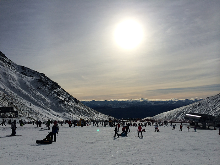 Beginners Lesson at The Remarkables