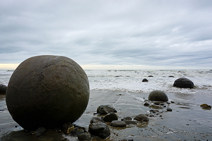 Roadtrip to Moeraki Boulders