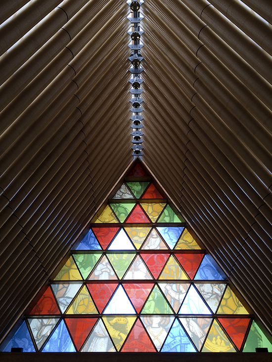 Cardboard Cathedral, Christchurch