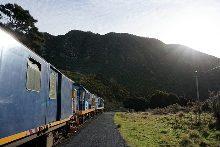 Taieri Gorge Railway - Along the Away