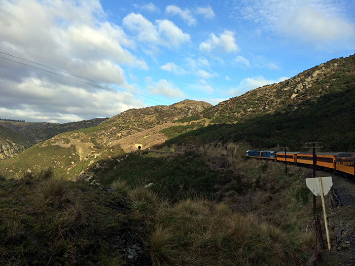 Taieri Gorge Railway - Along the Away