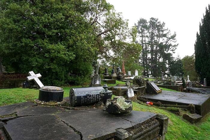 Anglican Cemetery Akaroa