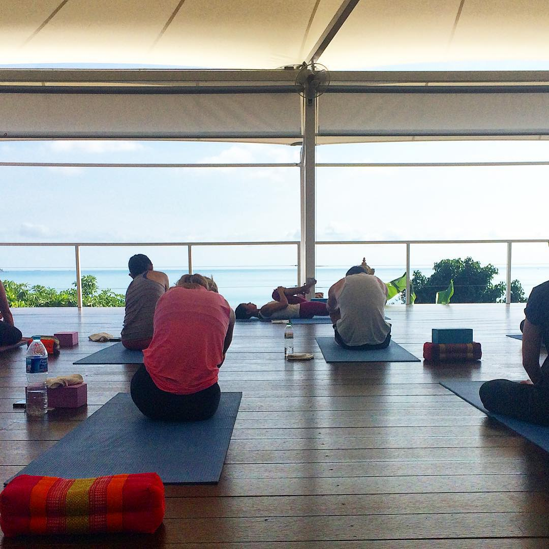 Yoga Class at Vikasa Yoga Retreat