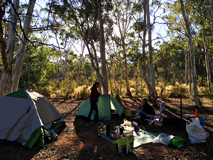 Hill End Camping Trip